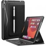 Infiland iPad Klavyeli Tablet Kılıfı (10.2 inç)(8. Nesil)