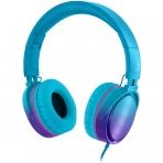 RockPapa Kablolu Kulak Üstü Kulaklık (Mavi)