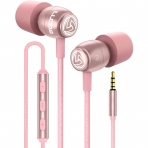 LUDOS Kablolu Kulak İçi Kulaklık (Pembe)