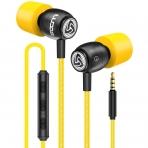 LUDOS Kablolu Kulak İçi Kulaklık (Sarı)