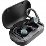 SinFoxeon Bluetooth 5.0 Kancalı Kulak İçi Kulaklık (Siyah)