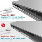 iBENZER MacBook Pro Koruyucu Kılıf (13 inç)-Clear