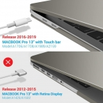 iBENZER MacBook Pro Koruyucu Kılıf (13 inç)-Gray