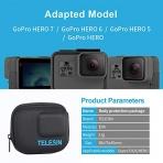 TELESIN GoPro Hero 7 Seyahat Çantası