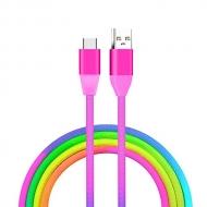 PINFOX Renkli USB C Kablo