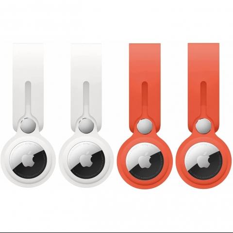 imini88 Apple AirTag İçin Koruyucu Kılıf (4 Adet)