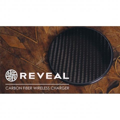 Reveal Carbon Fiber Kablosuz Şarj Aleti