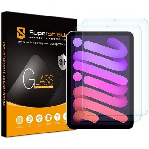 Supershieldz iPad Mini 6 Cam Ekran Koruyucu (8.3 inç) (2 Adet)