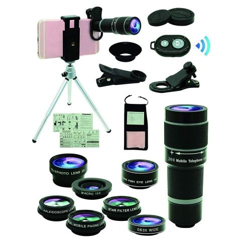 Bostionye Kamera Lens Seti