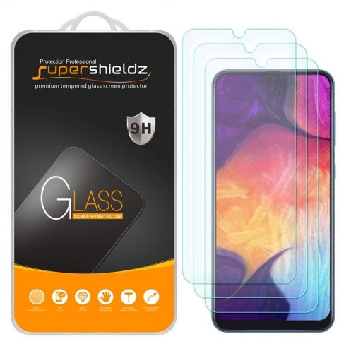 Supershieldz Galaxy A50 Temperli Cam Ekran Koruyucu (3 Adet)