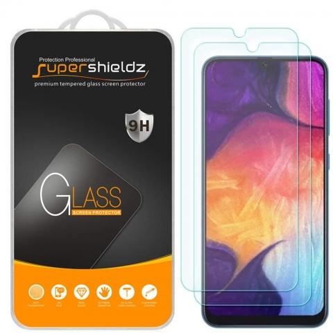 Supershieldz Galaxy A50 Temperli Cam Ekran Koruyucu (2 Adet)