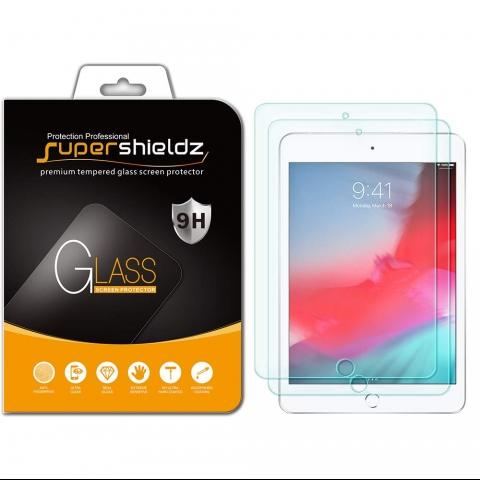 Supershieldz iPad Mini 5 Temperli Cam Ekran Koruyucu (2 Adet)