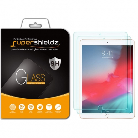 Supershieldz iPad Air 3 Cam Ekran Koruyu (10.5inç)(2 Adet)
