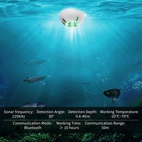 JOYLOG Akıllı Kablosuz Sualtı Balık Bulucu