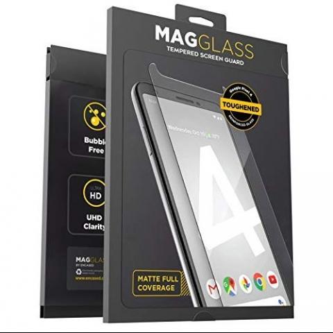MagGlass Google Pixel 4 Mat Cam Ekran Koruyucu
