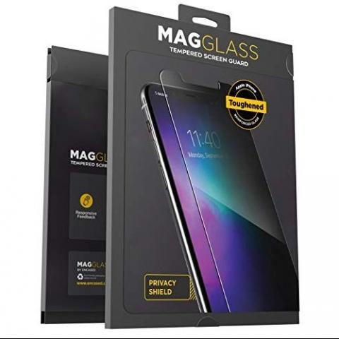 MagGlass iPhone 11 Pro Max Privacy Ekran Koruyucu