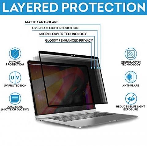 Tuxlke MacBook Pro Privacy Ekran Koruyucu (13 inç)