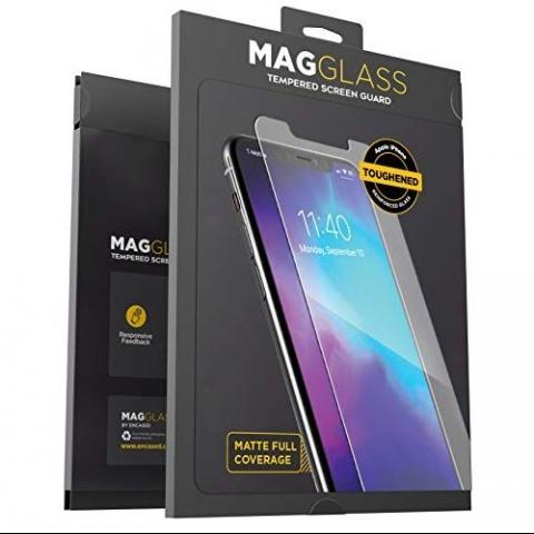 MagGlass iPhone 11 Pro Max Mat Cam Ekran Koruyucu