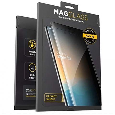 Magglass Galaxy Note 10 Privacy Cam Ekran Koruyucu