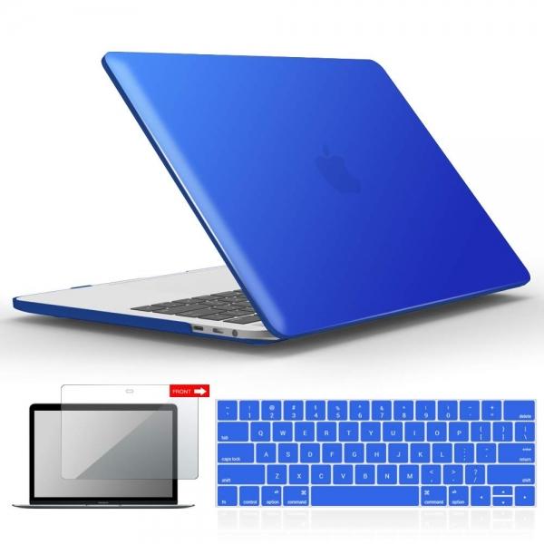 iBENZER MacBook Pro Koruyucu Kılıf (13 inç)-Royal Blue