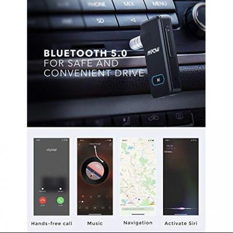 Mpow BH129 Bluetooth Kablosuz Ses Adaptörü