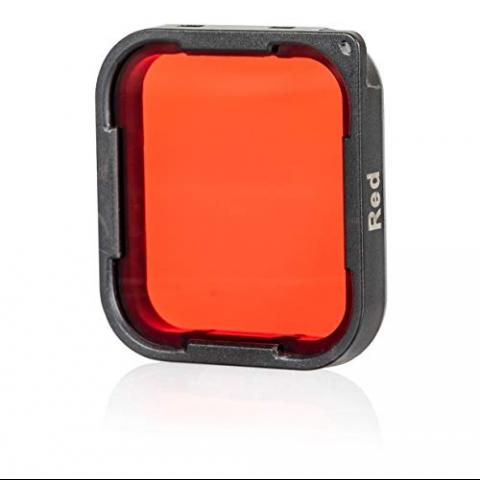 Chronos GoPro Hero 7 Kırmızı Lens Filtresi