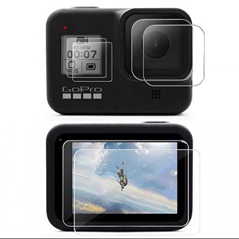 MAXCAM GoPro Hero 8 Ekran Koruyucu (6 Adet)