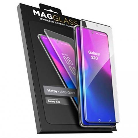 Magglass Samsung Galaxy S20 Mat Cam Ekran Koruyucu