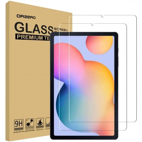 Orzero Galaxy Tab S6 Lite Cam Ekran Koruyucu (10.4 inç)(2 Adet)