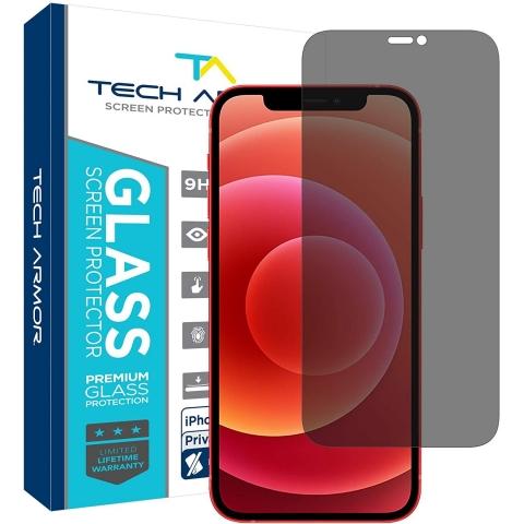 Tech Armor iPhone 12 Mini Privacy Balistik Cam Ekran Koruyucu