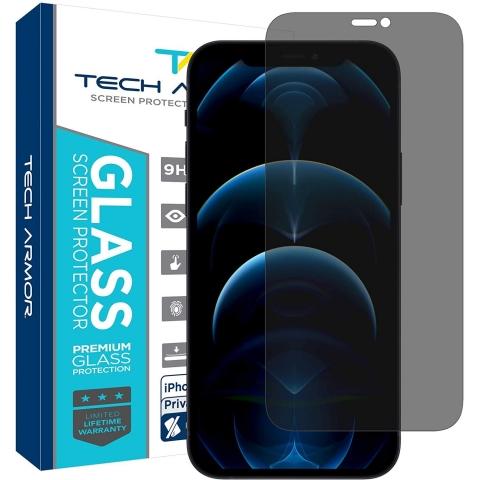 Tech Armor iPhone 12 Pro Max Privacy Balistik Cam Ekran Koruyucu