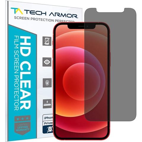Tech Armor iPhone 12 Mini Privacy Film Ekran Koruyucu