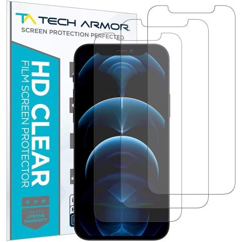 Tech Armor iPhone 12 Pro Max Mat Ekran Koruyucu Film (3 Adet)