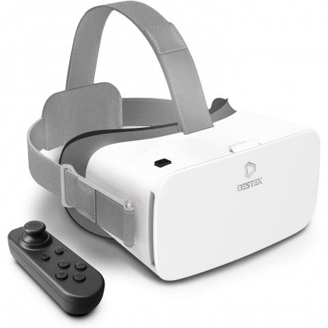 DESTEK V5 VR Combo Sanal Gerçeklik Gözlüğü (Beyaz)