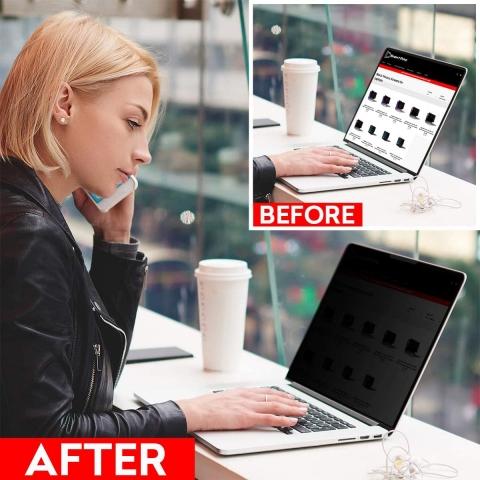 SightPro MacBook Pro Privacy Manyetik Ekran Koruyucu (13 inç)(M1)