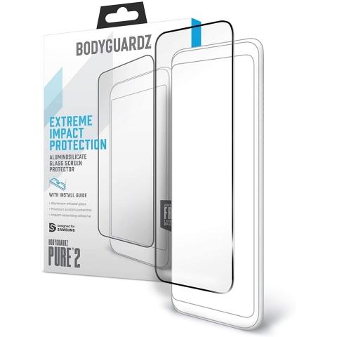 Bodyguardz iPhone 12 PRTX Edge Cam Ekran Koruyucu