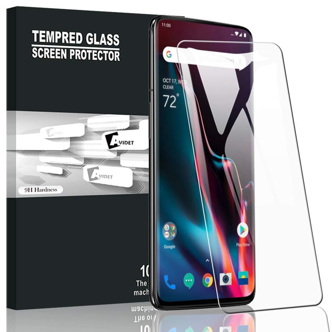 AVIDET Oneplus 7 Temperli Cam Ekran Koruyucu (2 Adet)