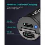 AUKEY CC-A4 USB C Araç Şarj Cihazı