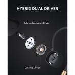 AUKEY Key Serisi B80 Bluetooth Kancalı Kulaklık-Black