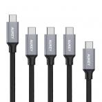 AUKEY USB-C to USB 3.0 Örgülü Kablo (5 Adet)