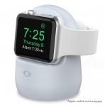 AhaStyle Apple Watch Silikon Şarj Standı-Light Blue