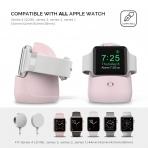 AhaStyle Apple Watch Silikon Şarj Standı-Pink