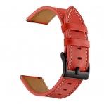 Aresh Samsung Galaxy Watch Deri Kayış (42mm)-Red