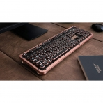 Azio Retro Klasik Bluetooth Vintage Mekanik Klavye (Artisan)