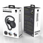 BONX Grip Kablosuz Kancalı Bluetooth Kulaklık-Black