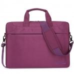 BRINCH Oxford Omuz Çantası (14.6 inç)-Purple