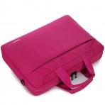 BRINCH Oxford Omuz Çantası (14.6 inç)-Pink