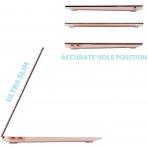 BELK MacBook Air Crystal Hard Kılıf (13 inç) (M1)-Pink