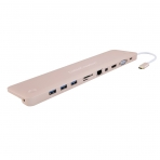 CableCreation MacBook USB-C Type C 4K Adaptör (12 inç/Pembe Altın)