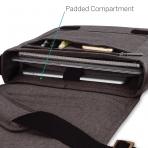 CaseCrown MacBook Kanvas Omuz Çantası (15 inç)- Brown